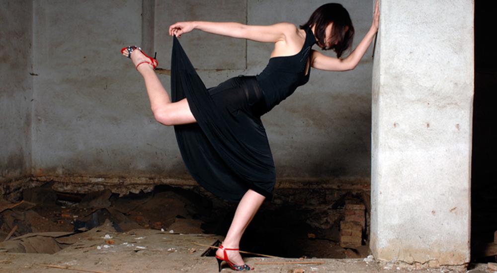 tango postura
